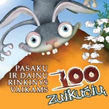 """Dainų ir pasakų rinkinys vaikams """"100 zuikučių"""""""